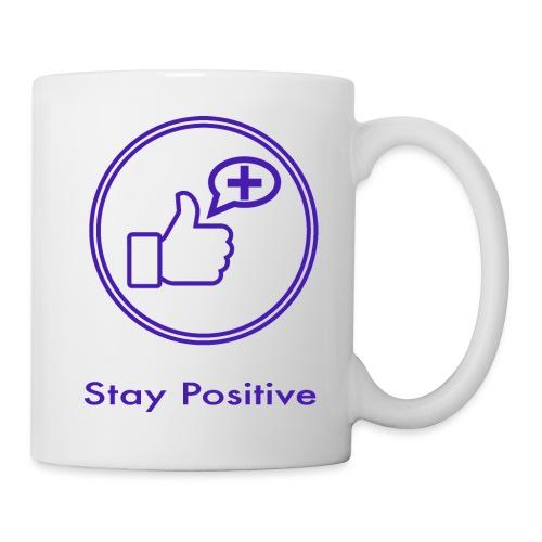 Stay Positive Icons without inwils - Coffee/Tea Mug