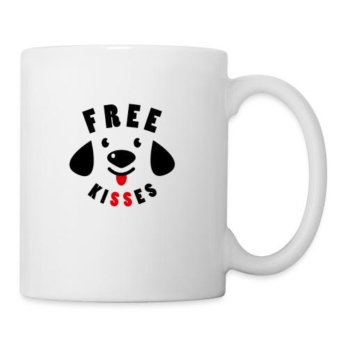 Free kisses t-shirt. - Coffee/Tea Mug