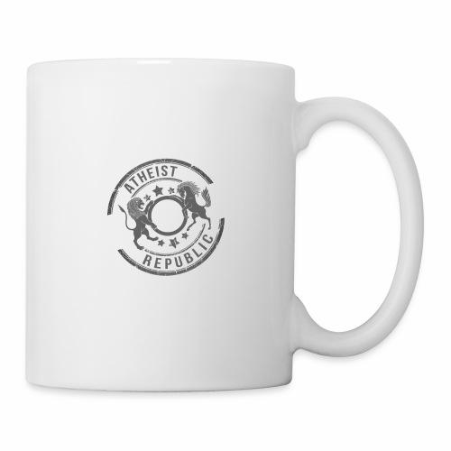 Atheist Republic Logo - Starred Stamp - Coffee/Tea Mug