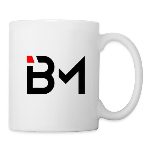 bench mob logo no lettering (black) - Coffee/Tea Mug