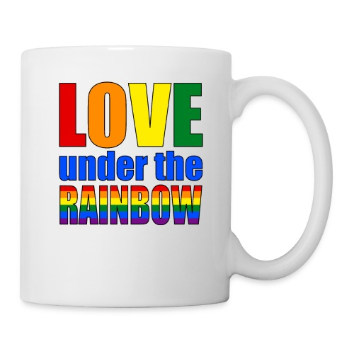 Somewhere under the rainbow... Celebrate Love! - Coffee/Tea Mug