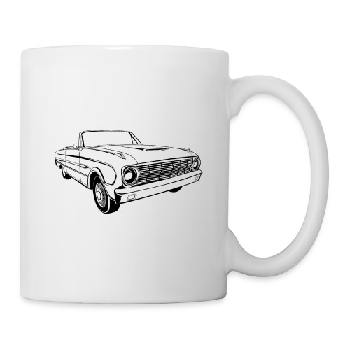 63 Ford Falcon Sprint Conv Men's T-Shirt - Coffee/Tea Mug