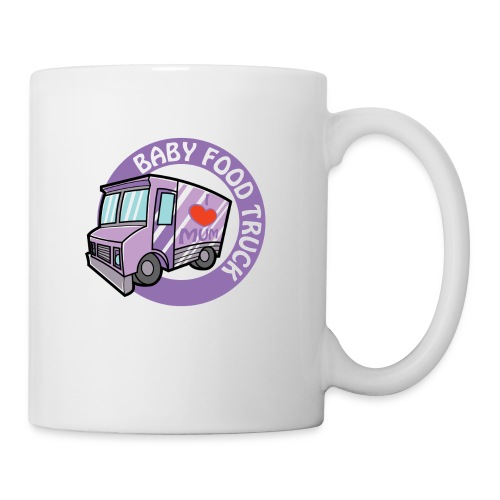 Purple baby food truck - Coffee/Tea Mug
