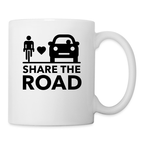 Share the road - Coffee/Tea Mug