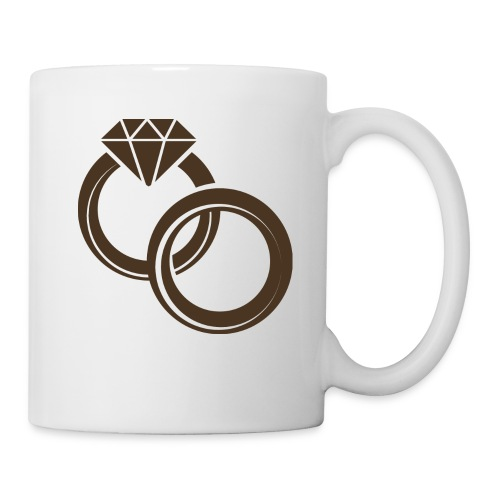 wedding rings - Coffee/Tea Mug