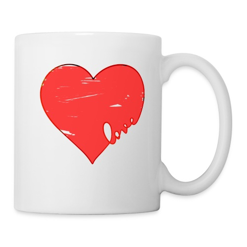 Valentine Heart, Love Heart - Coffee/Tea Mug