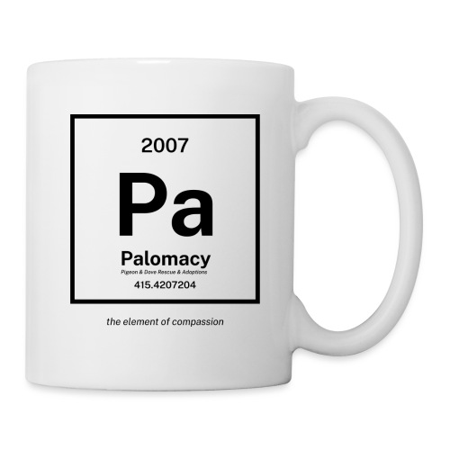 Palomacy: Element of Compassion (Black) - Coffee/Tea Mug