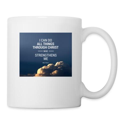 I can do all things through christ who strengthens - Coffee/Tea Mug