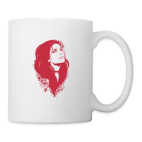 A draw of a girl - Coffee/Tea Mug