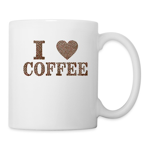 I Love Coffee - Coffee/Tea Mug