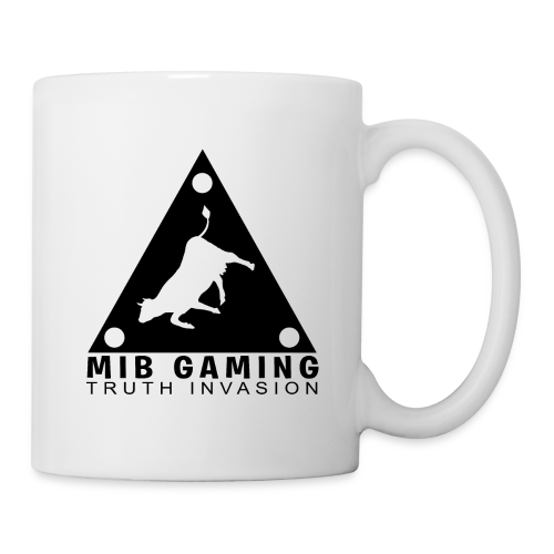 MIB LOGO: TRUTH INVASION TRIANGLE UFO - Coffee/Tea Mug