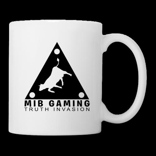 MIB LOGO: TRUTH INVASION TRIANGLE UFO - Coffee/Tea Mug