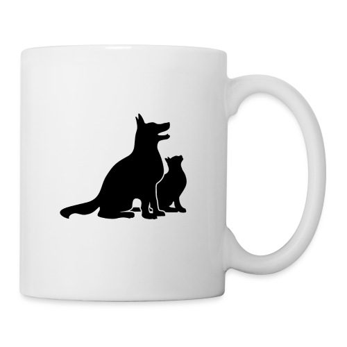 Dog and Cat Best Friends - Coffee/Tea Mug