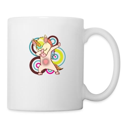 dabbing unicorn - cool unicorn - unicorn dab - Coffee/Tea Mug