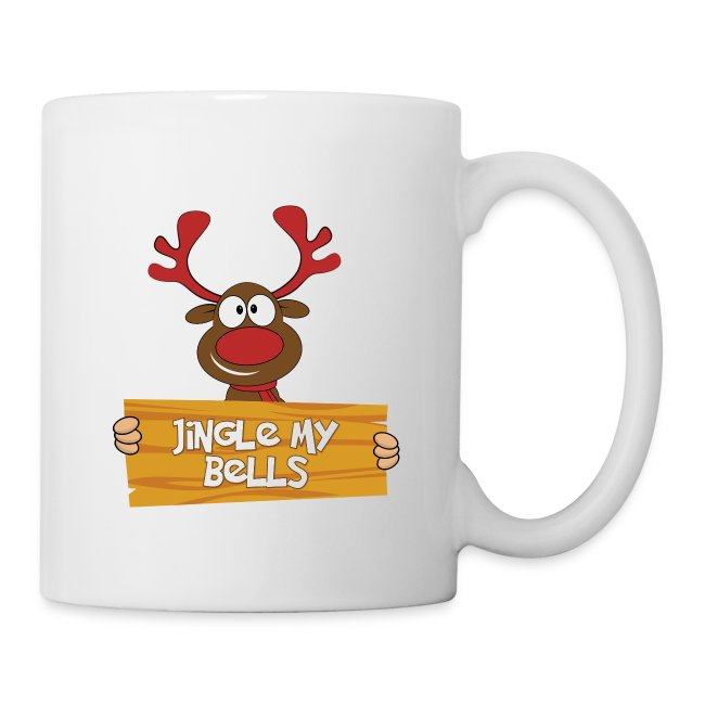 Red Christmas Horny Reindeer 4