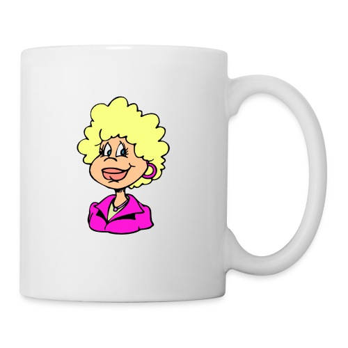 mother cartoon alone - Coffee/Tea Mug