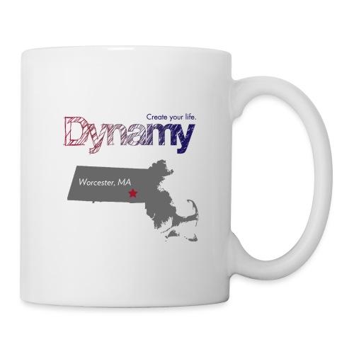Worcester Map - Coffee/Tea Mug