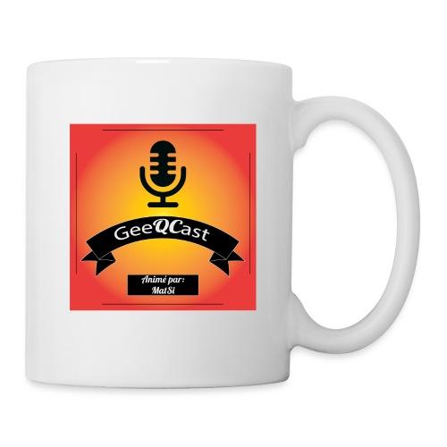 GeeQCast Full Logo - Coffee/Tea Mug