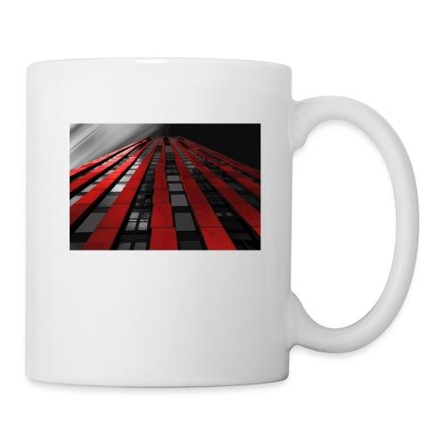 red, black & white - Coffee/Tea Mug