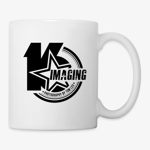 16IMAGING Badge Black - Coffee/Tea Mug