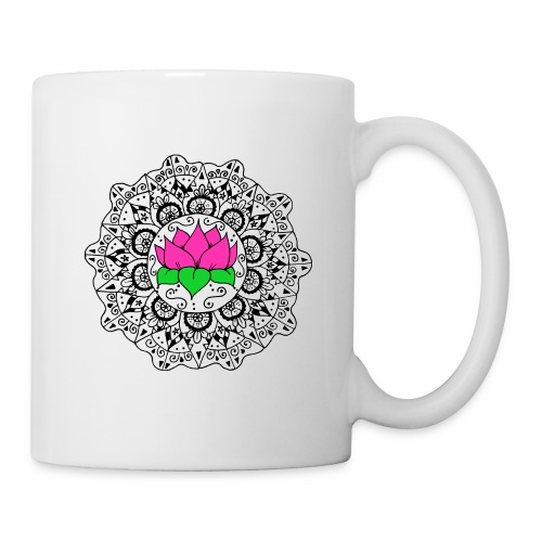 Lotus Flower Mandala - Coffee/Tea Mug