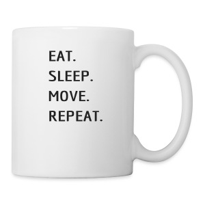 Eat Sleep MOVE - Coffee/Tea Mug