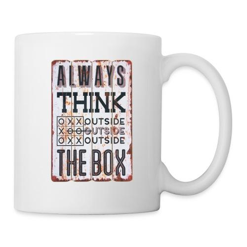 Always think outside the box - Coffee/Tea Mug