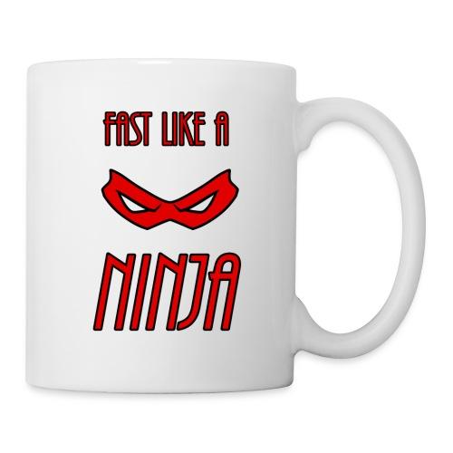 Fast_Ninja_Red - Coffee/Tea Mug