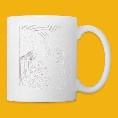 Messy Zentangle Boxing glove (TCOU) - Coffee/Tea Mug