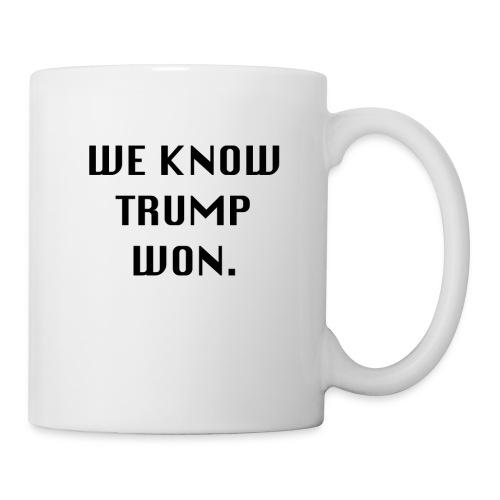 WEKNOWTRUMPWON - Coffee/Tea Mug