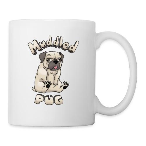 muddled-pug - Coffee/Tea Mug