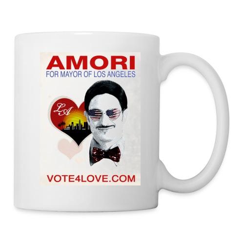 Amori for Mayor of Los Angeles eco friendly shirt - Coffee/Tea Mug