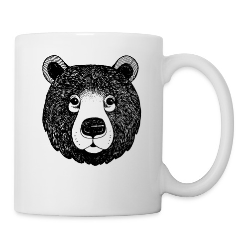 The head of bear - Coffee/Tea Mug