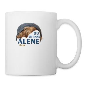Du er ikke alene (Skam) - Coffee/Tea Mug