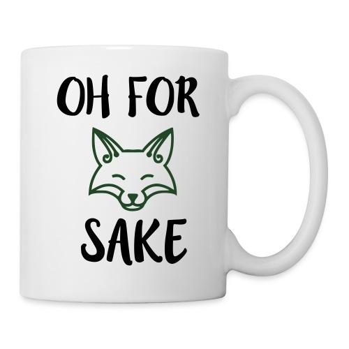 Oh For Fox Sake Design - Coffee/Tea Mug