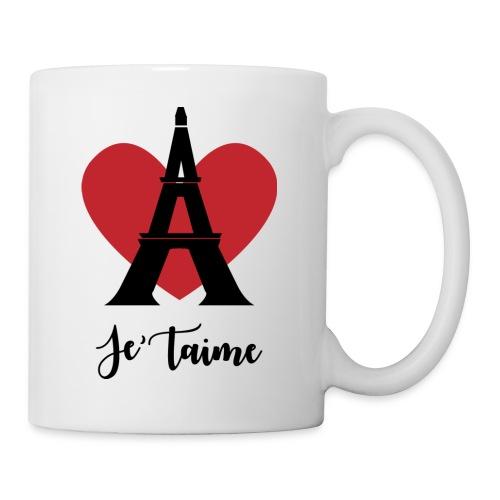 Je'taime Paris - Coffee/Tea Mug