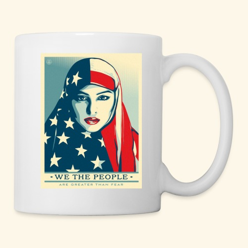 We the people are greater than fear - Coffee/Tea Mug