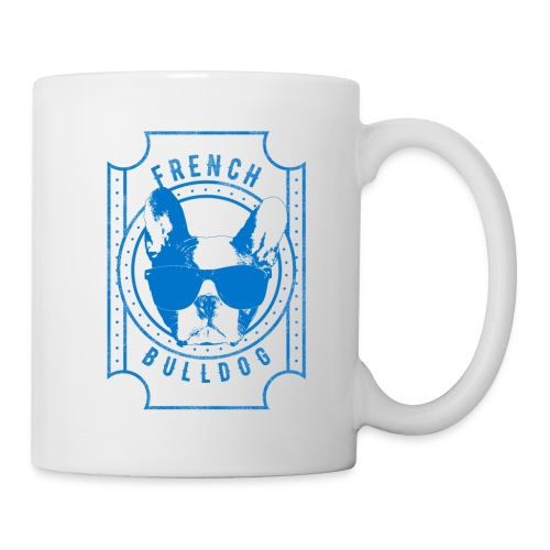 French Bulldog Blue - Coffee/Tea Mug