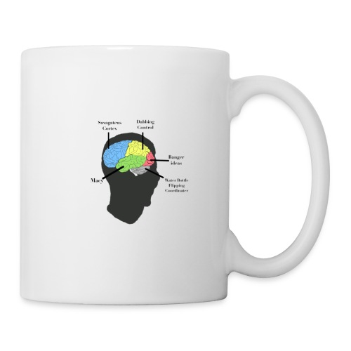 Corbin YT brain diagram - Coffee/Tea Mug