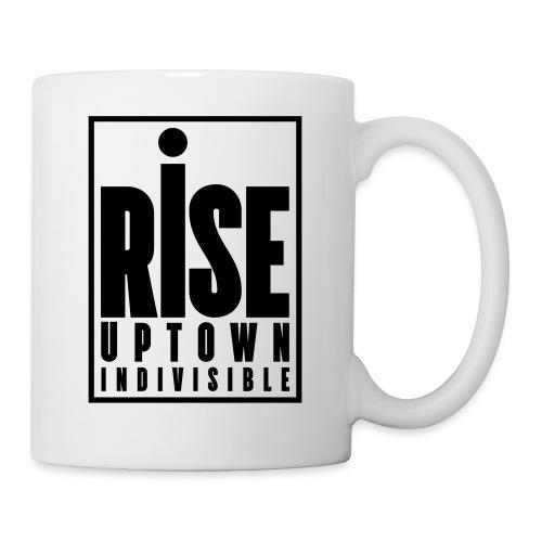 Rise Uptown Indivisible logo gear - Coffee/Tea Mug