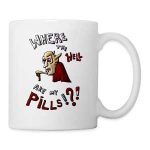 Where are my pills? - Coffee/Tea Mug