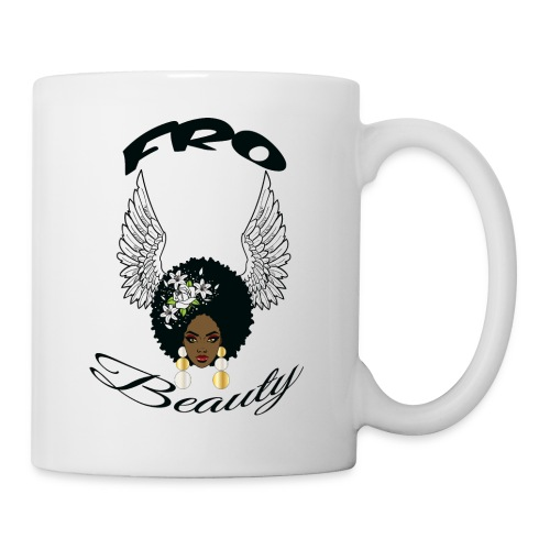ron s angel wings girl - Coffee/Tea Mug