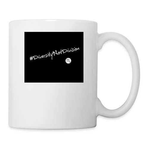 #DiversityNotDivision - Coffee/Tea Mug