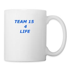team 15 4 life merch - Coffee/Tea Mug