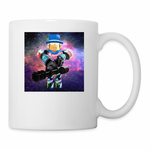 sean roblox character with minigun - Coffee/Tea Mug
