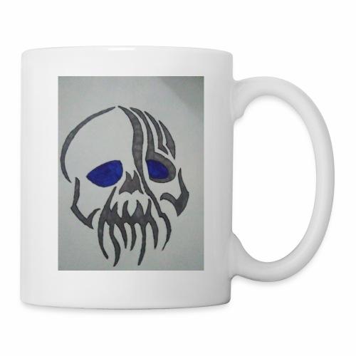 Blue Eyed Skull - Coffee/Tea Mug