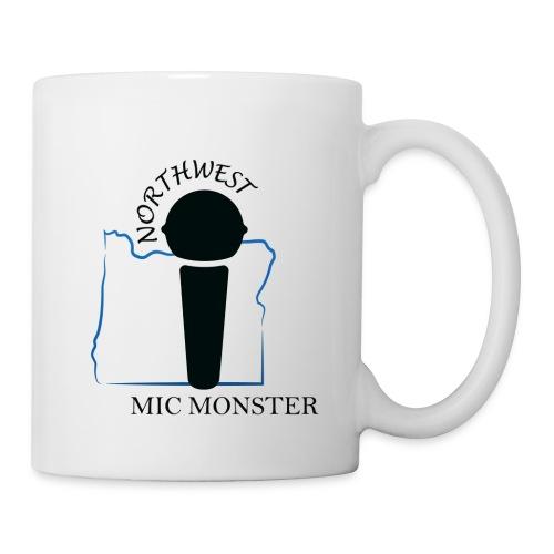 NorthWest Mic Monster Black - Coffee/Tea Mug