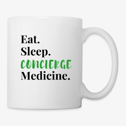 Eat Sleep Concierge Medicine - green - Coffee/Tea Mug