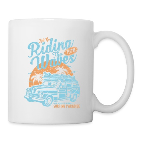 Riding The Waves - Coffee/Tea Mug
