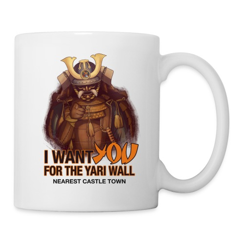 I WANT YOU FOR THE YARI WALL ACCESSORIES - Coffee/Tea Mug